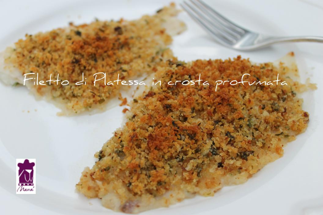 Filetto di Platessa in crosta profumata