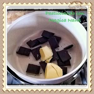 Salame di cioccolato fondente