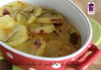 Rondelle di patate al forno