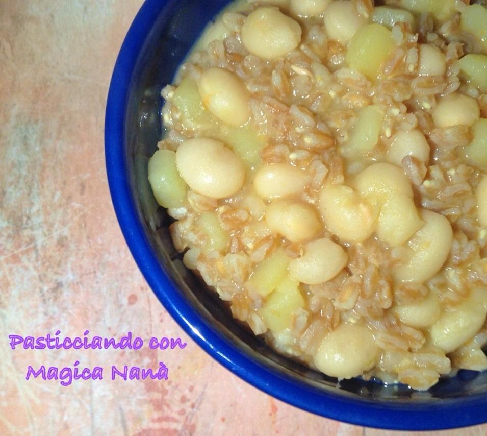 Zuppa di farro & fagioli