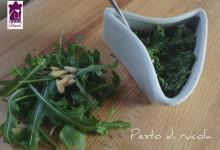 Pesto di rucola ricetta Bimby e ricetta tradizionale