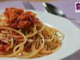 Spaghetti con ragù di pesce