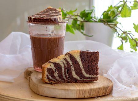 Zebra cake, ricetta con e senza Bimby