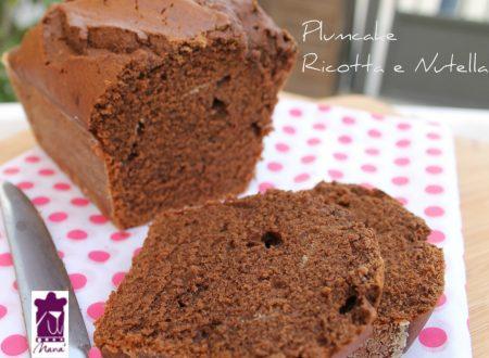 Plumcake ricotta e Nutella ricetta Bimby e tradizionale