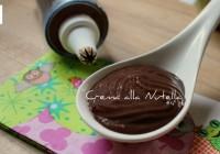Crema alla Nutella ricetta tradizionale e ricetta Bimby