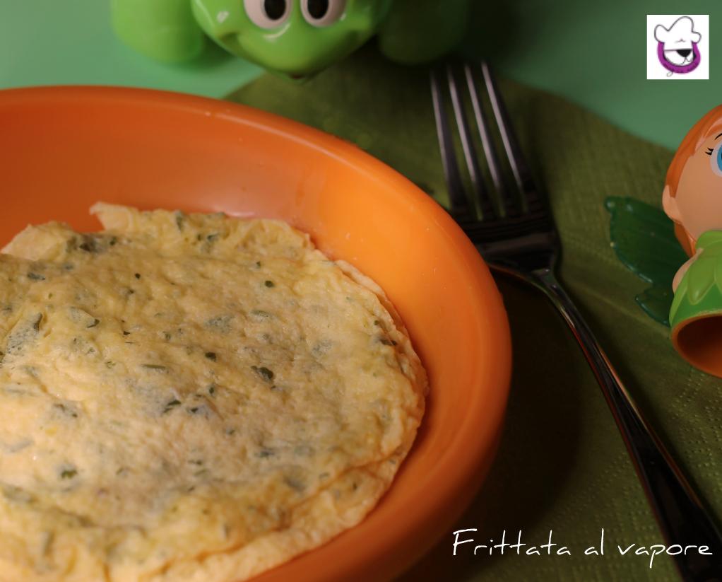 Frittata al vapore ricetta pappe pasticciando con magica nan - Forno a vapore ricette ...