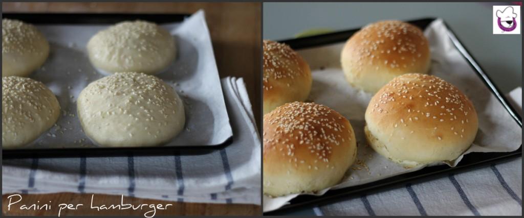 Conosciuto Panini per hamburger, ricetta lievitati preparazione con e senza Bimby GS06