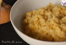 Risotto alla zucca, ricetta tradizionale e ricetta Bimby