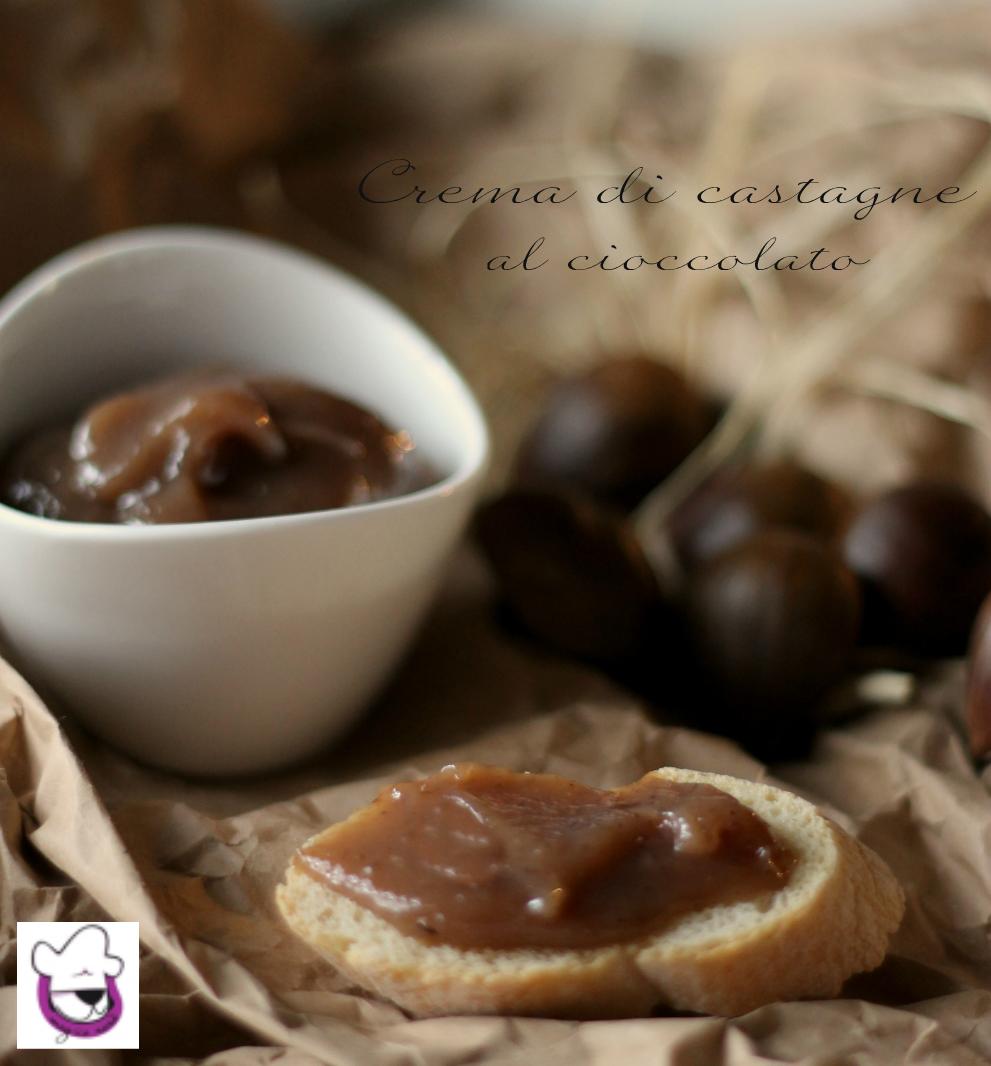 Crema di castagne al cioccolato 2