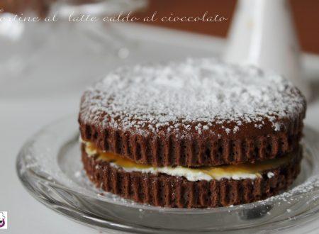 Tortine al  latte caldo al cioccolato ricetta tradizionale e ricetta Bimby