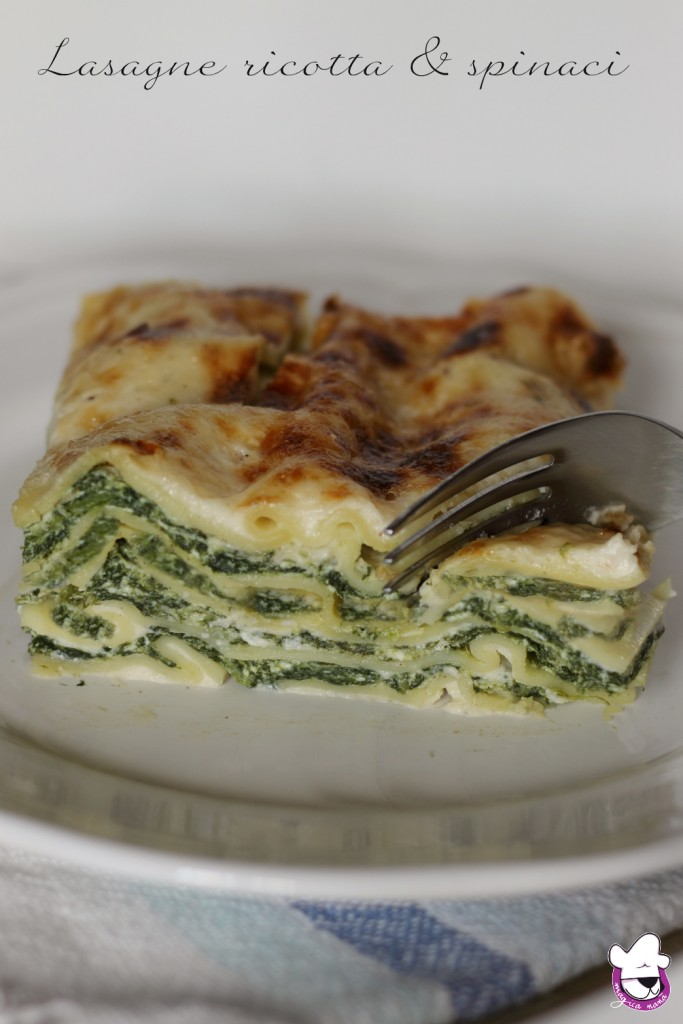 Lasagne ricotta e spinaci 2
