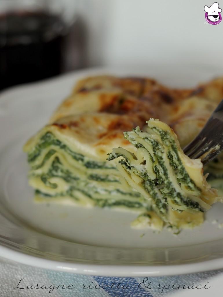 Lasagne ricotta e spinaci 3