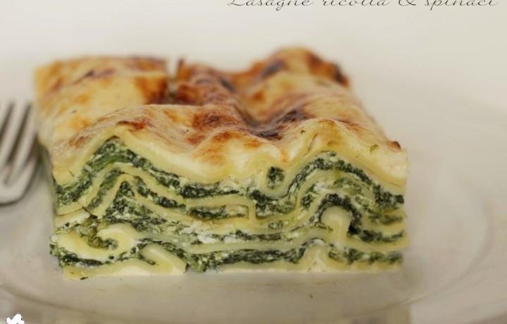 Lasagne ricotta & spinaci