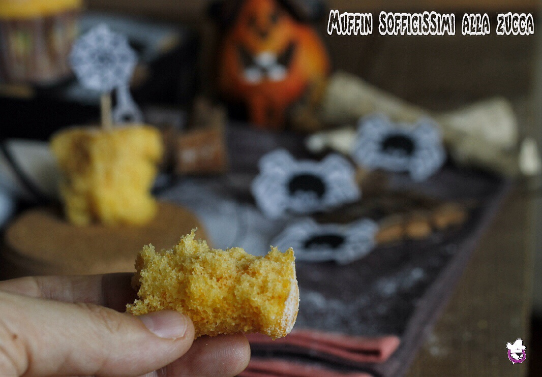 Muffin sofficissimi alla zucca