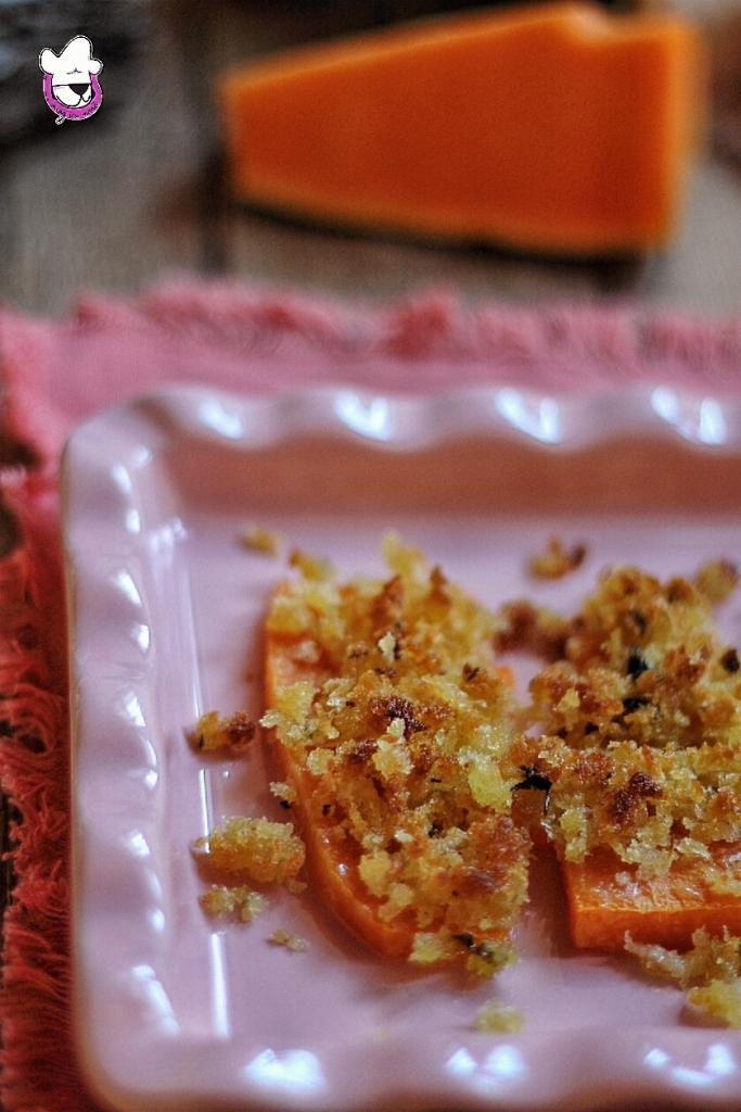 Zucca al forno gratinata
