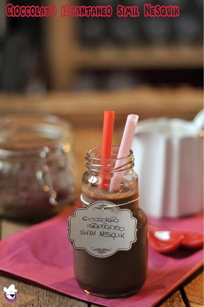 Cioccolato istantaneo simil Nesquik