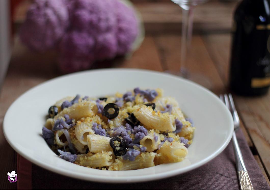 Pasta con cavolfiore viola alla lucana ricetta