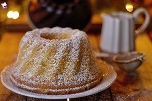 Ciambella alla panna, ricetta tradizionale e ricetta Bimby