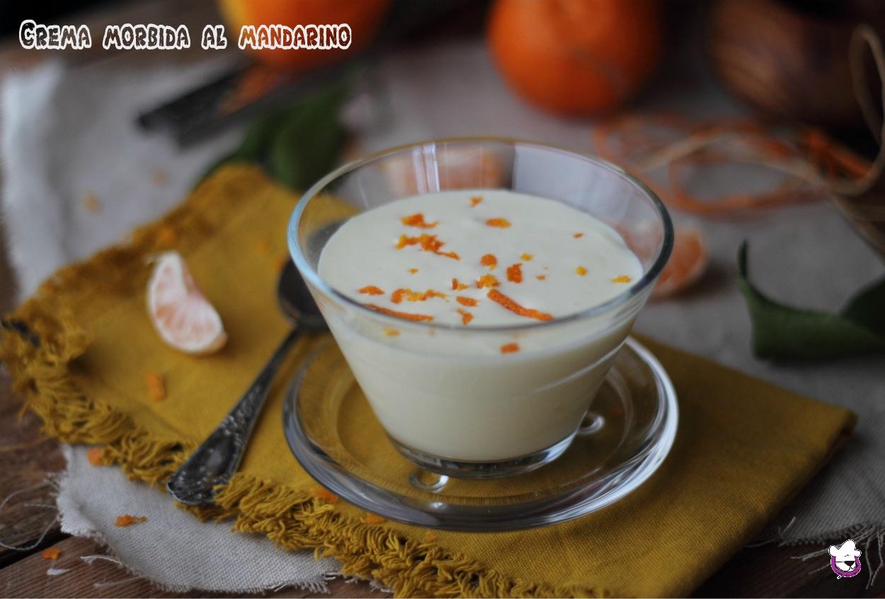Crema morbida al mandarino