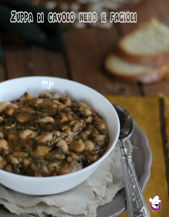 Zuppa di cavolo nero e fagioli 2