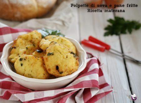 Polpette di uova e pane fritte, ricetta materana – pjljpitt d iaivj i mddjck –