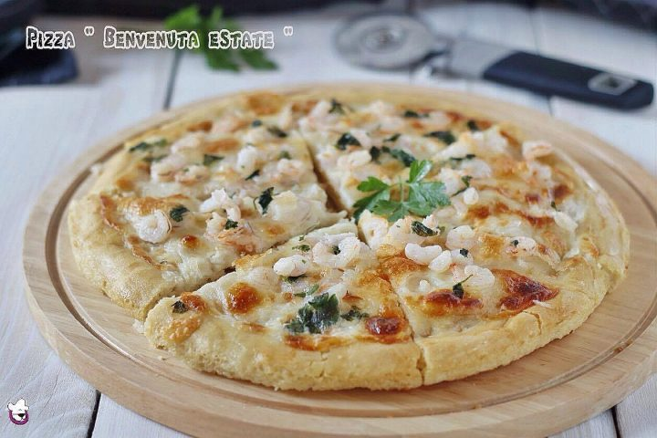 """Pizza in teglia """" Benvenuta Estate """""""