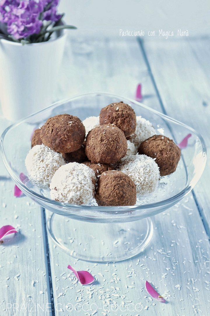 Praline ciocco - cocco