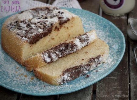 Torta panna e Nutella, ricetta tradizionale e ricetta Bimby