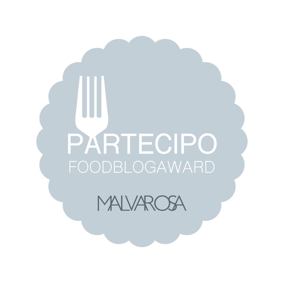Partecipo al Food Blog Award 2016
