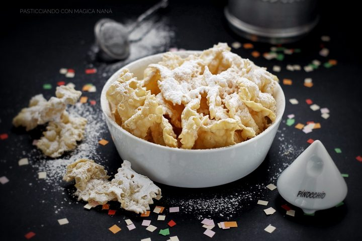Chiacchiere dolci fritti