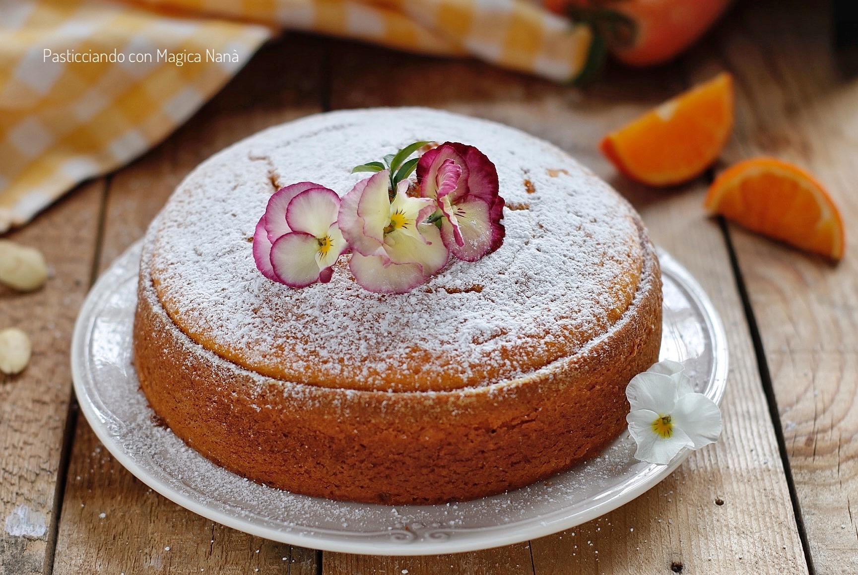 Ricetta torta con mandorle tritate bimby