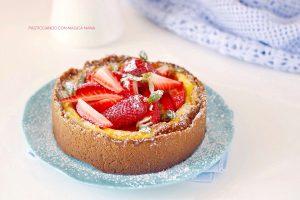 Ricetta Cheesecake cotta con le fragole