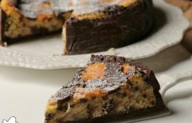 Pastiera al cacao con gocce di cioccolato, ricetta tradizionale e ricetta Bimby