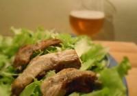 Costine di maiale alla birra