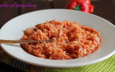 Risotto al pomodoro ricetta bimby e tradizionale