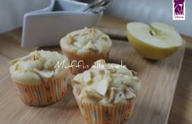 Muffin alle mele, ricetta bimby e ricetta tradizionale