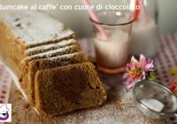 Plumcake al caffè con cuore di cioccolato