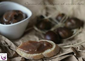 Crema di castagne al cioccolato