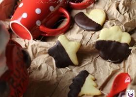 Biscotti di frolla  al cioccolato
