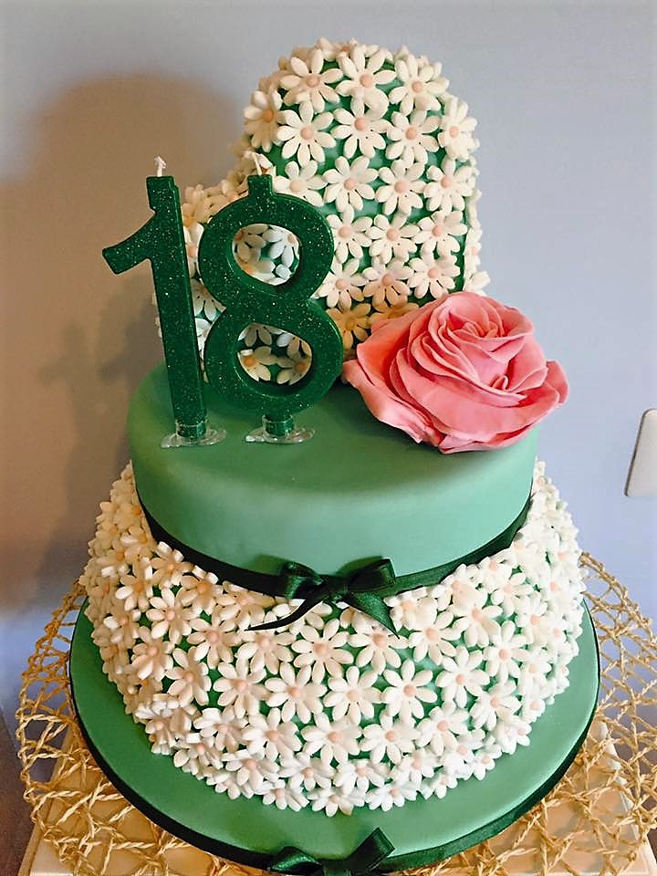 Molto Torta margherite 18 anni | L'amore per la cucina di Sonia KW19