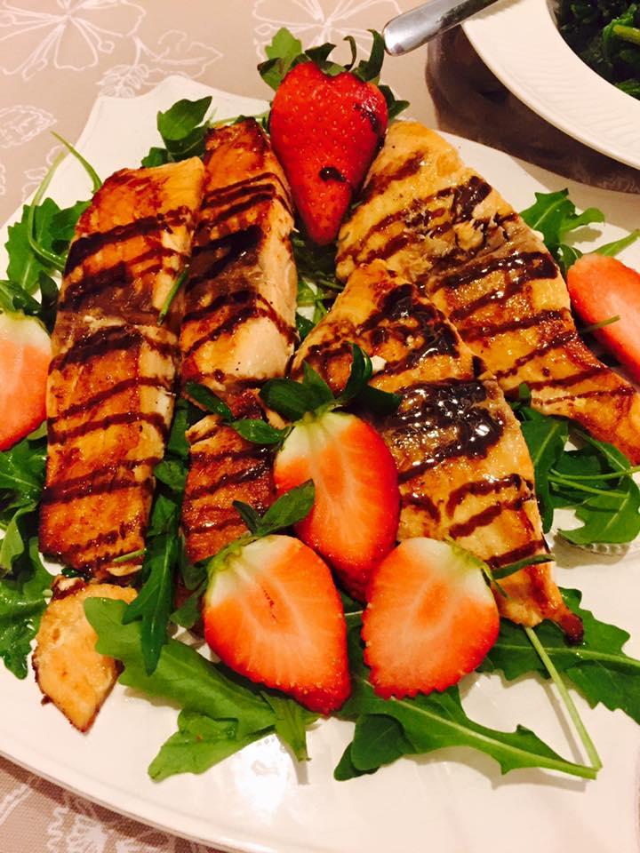Secondi piatti con il Salmone