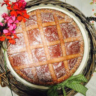 Crostata di nutella con farina integrale l 39 amore per la - Bagno nella nutella ...