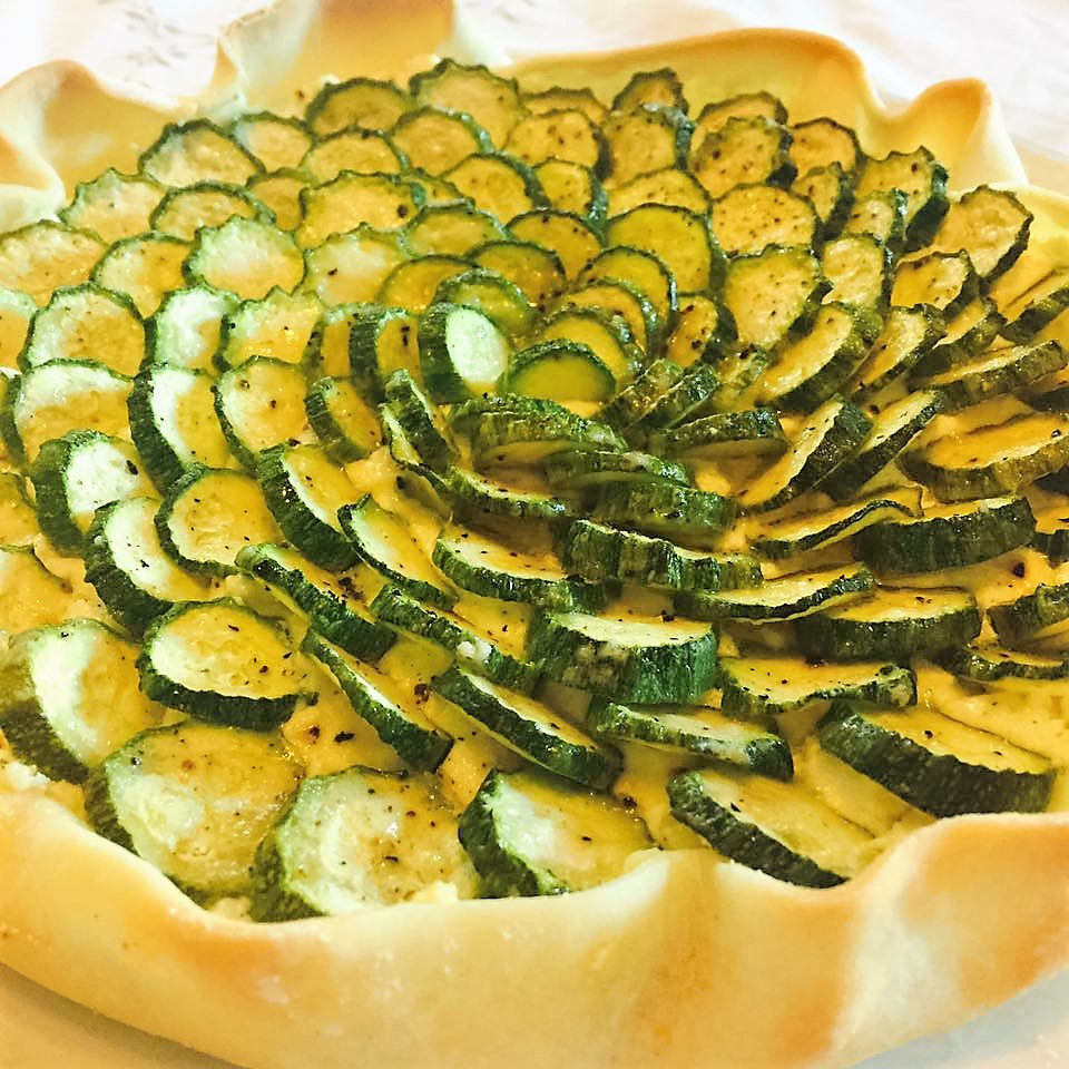 Torta rustica con zucchine