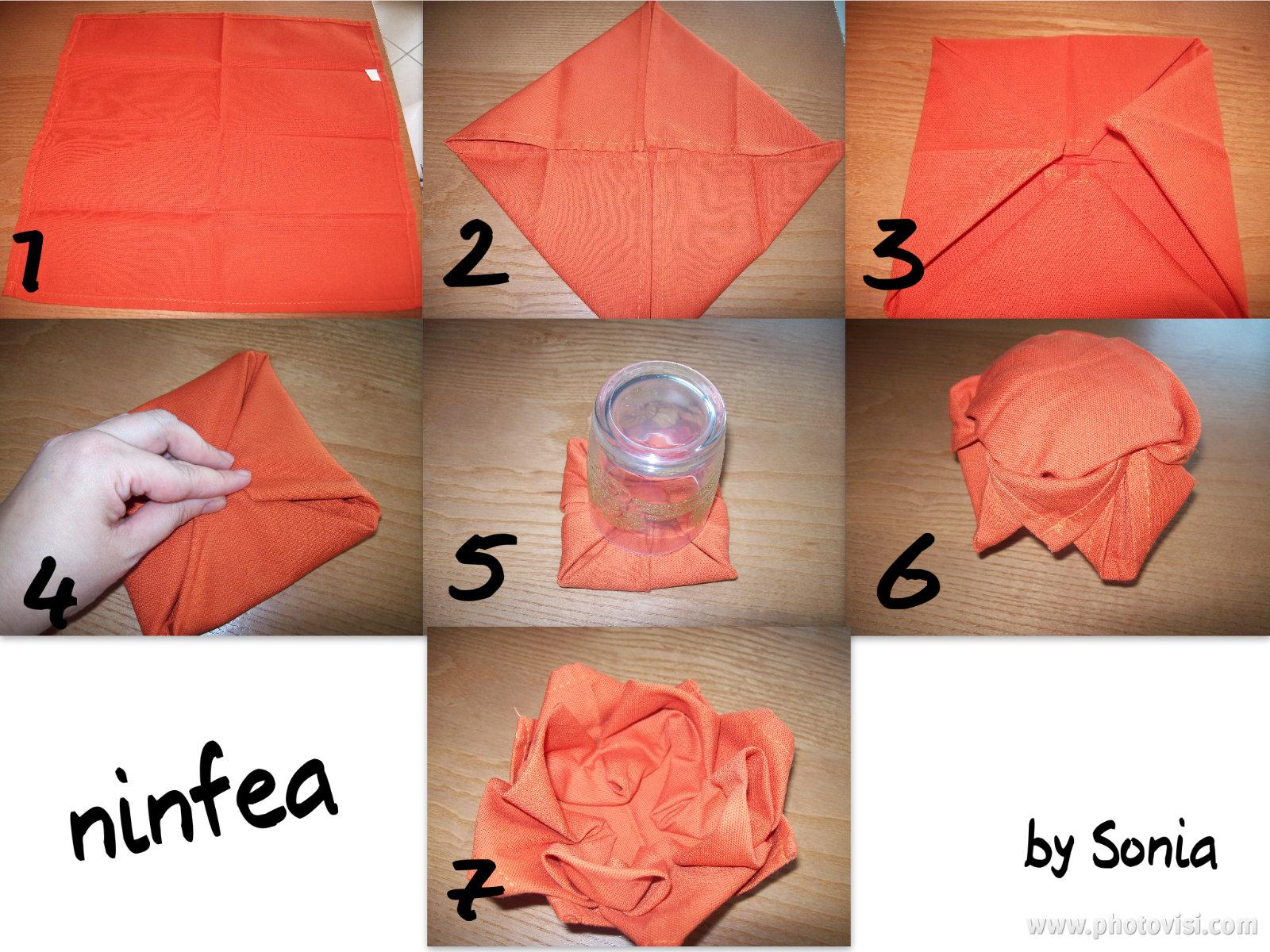 Decorare la tavola con i tovaglioli - Decorazioni con fazzoletti di carta ...