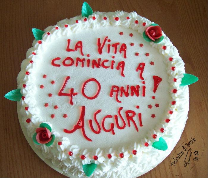 Torte Per Compleanno 40 Anni Parquetfloor