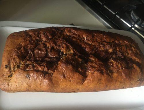 Banana bread alla Nutella.
