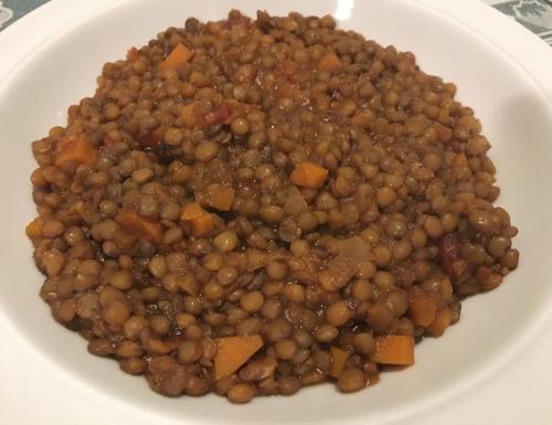 Zuppa di lenticchie.