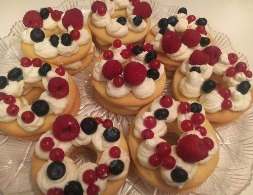 Cream-tart monoporzione