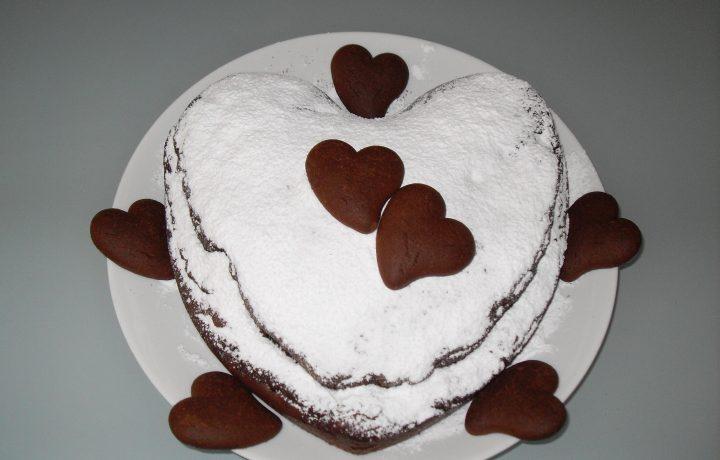 Dolce cuore al cacao