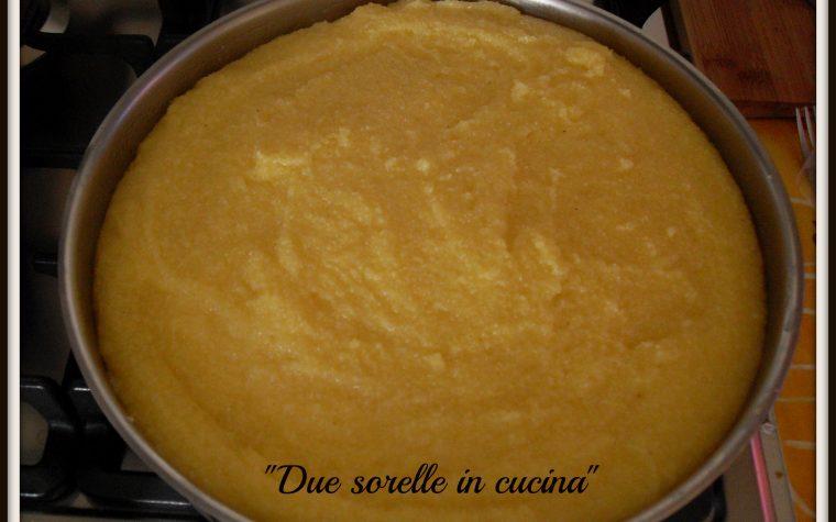 Un piatto veneto: sformato di polenta ripieno al forno